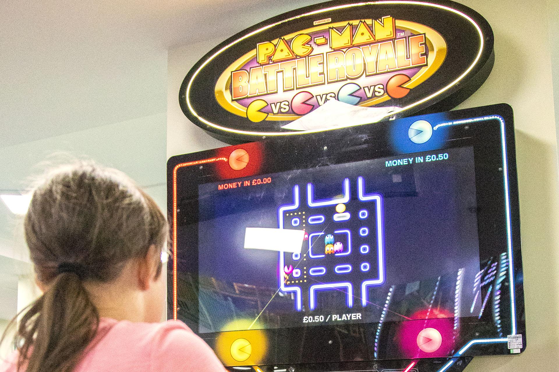Adventure Inside Arcades