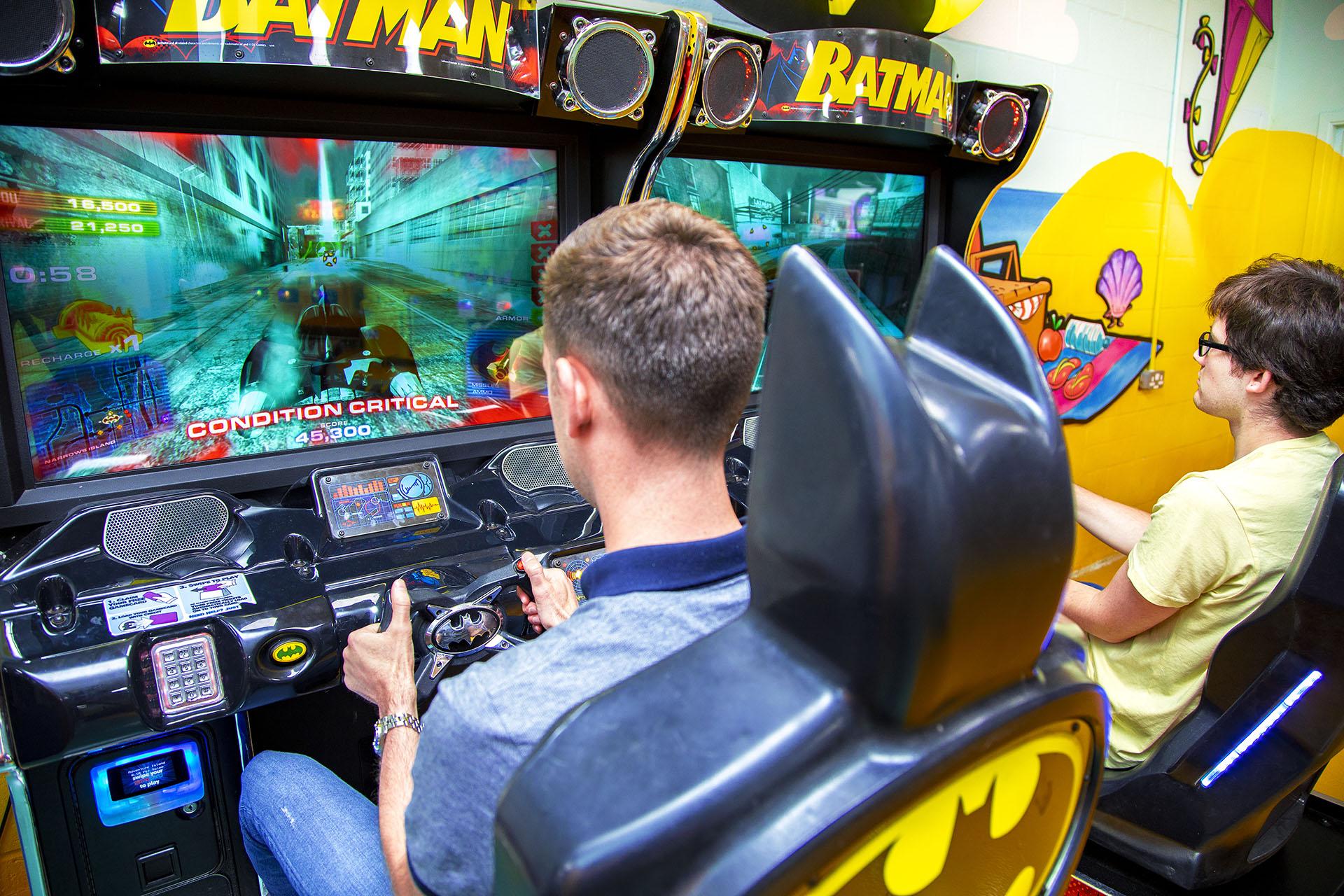 Adventure Inside Arcade